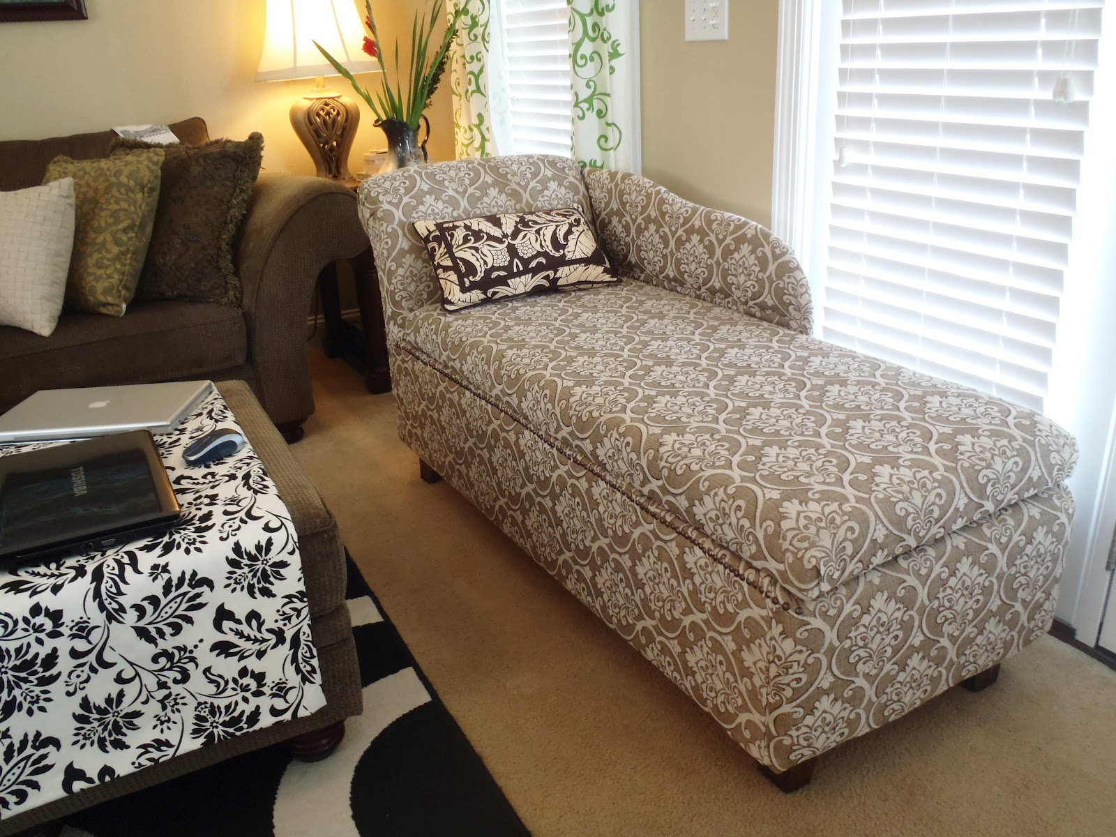 chaise lounge with storage Lazy Liz on Less: Storage chaise lounge chaise lounge with storage
