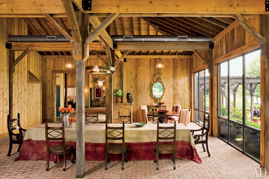 New Home Interior Design: Barn-Style Houses