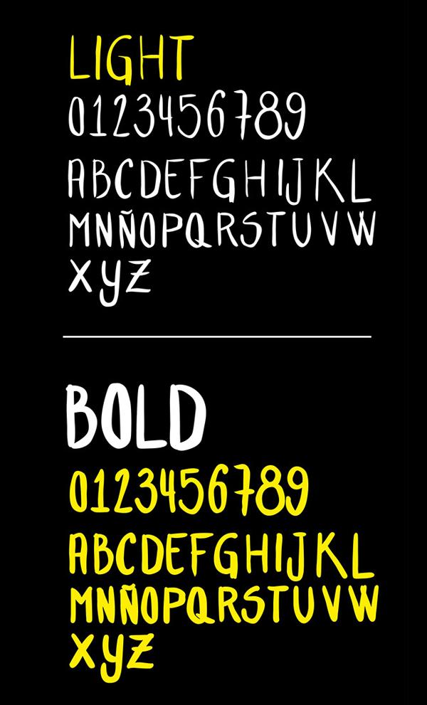 Font Terbaru Untuk Desain Grafis - Hand Letter Font Letters