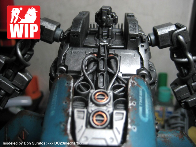 custom MG The O verDC23 WIP photo