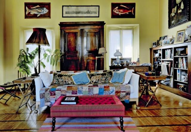 Decor inspiration at home with gianluca brivio sforza for Home decor milano
