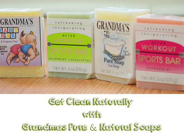 Get Clean Naturally with Grandma's Pure & Natural Soaps {A Review}