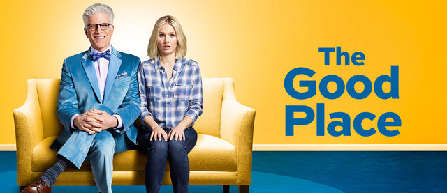 cartaz da série the good place