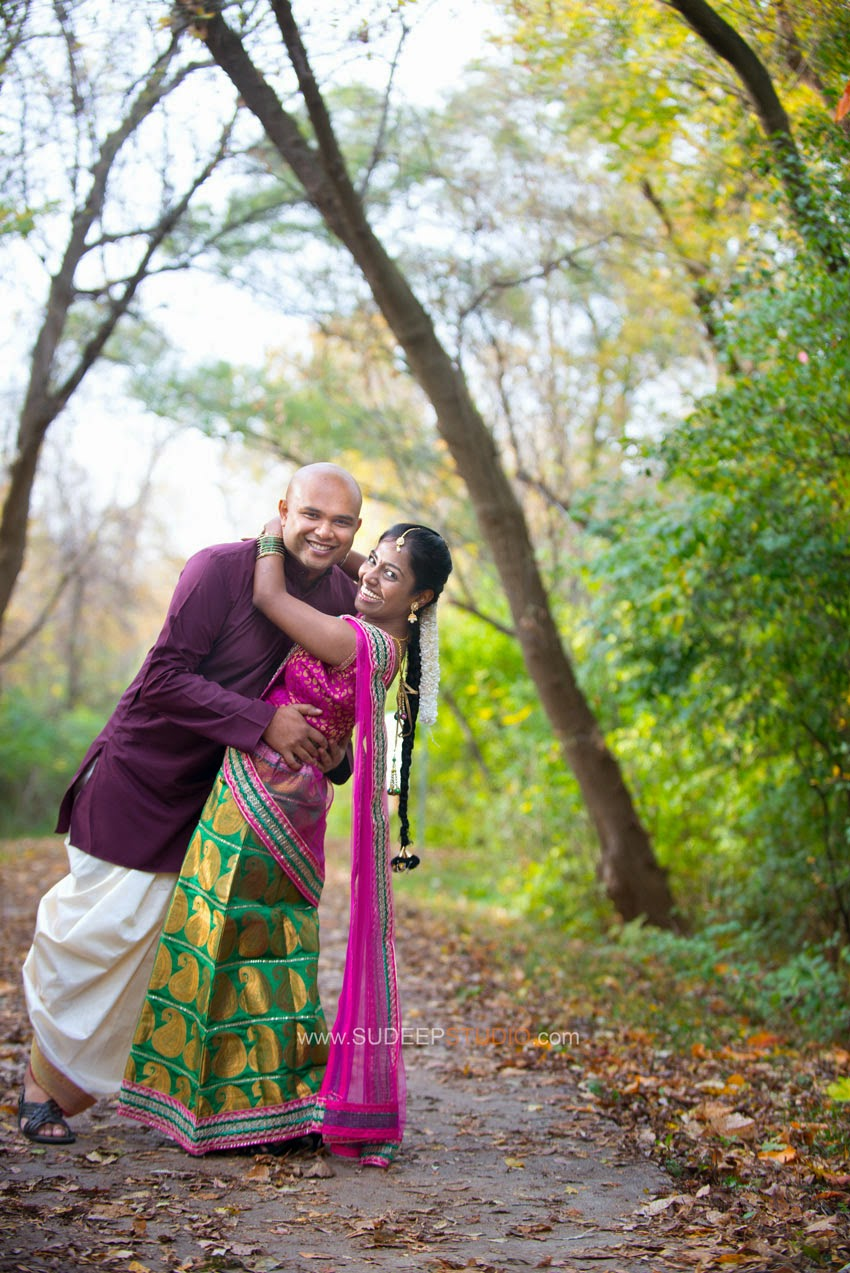 Ann Arbor Wedding Engagement Session - Sudeep Studio.com