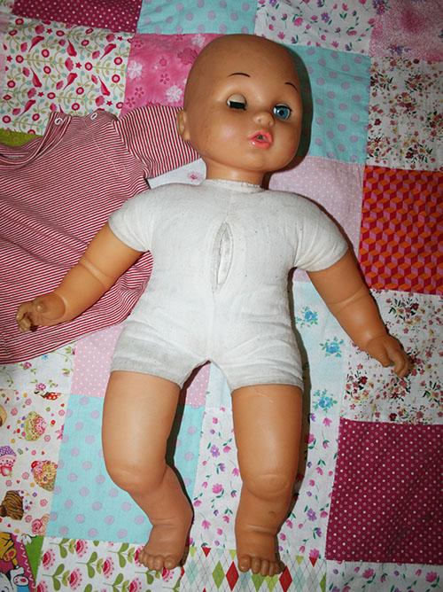 преображение куклы, ремонт глаз куклы, как сшить новое тело кукле