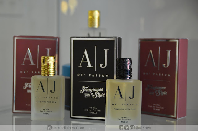 Terpikat Dengan Haruman Minyak Wangi AJ DE' PARFUM