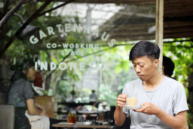 feryarifian food blogger malang - gartenhaus co working space