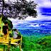 Panorama Angkringan Pohon Gunung Gemblung Trenggalek