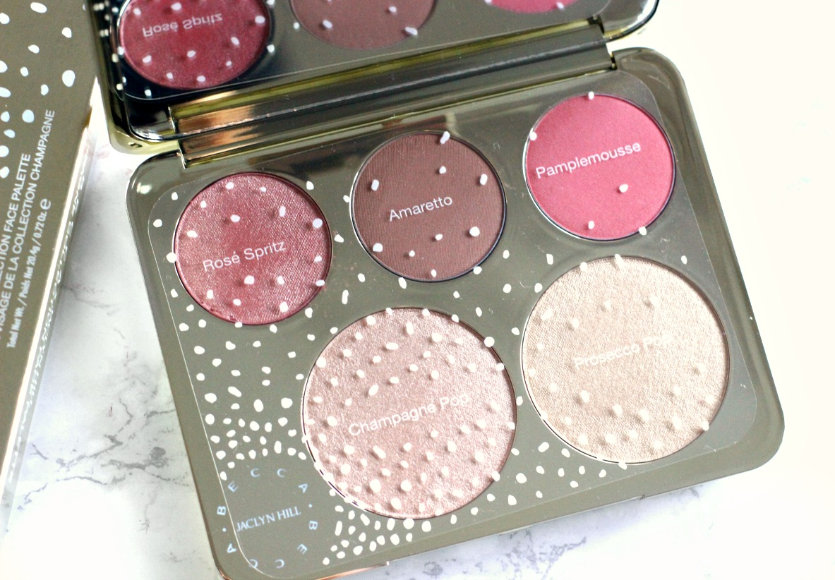becca champagne collection palette