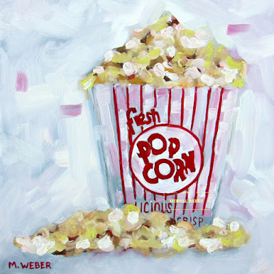 movie-theater-popcorn-oil-painting-by-merrill-weber
