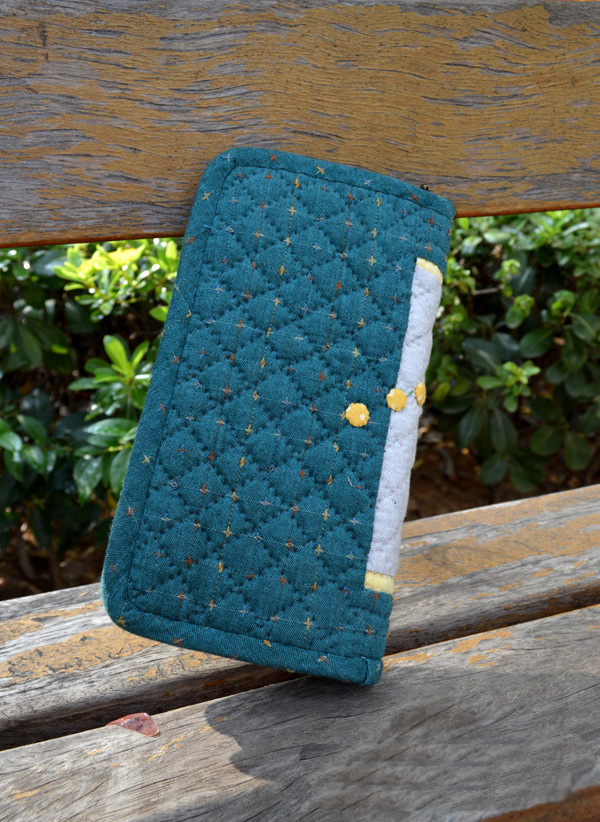 Accordion Zipper Quilted Purse/Wallet Sewing Tutorial.