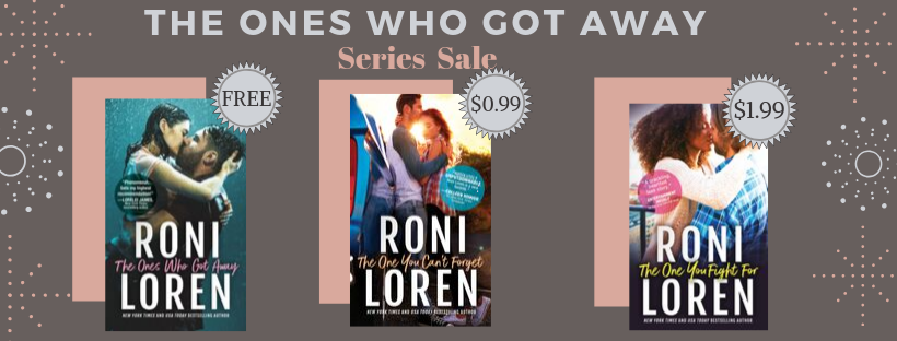 The Ones Who Got Away Series Sale & Giveaway!