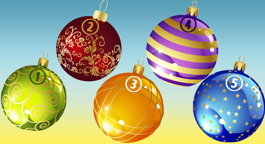 La esfera seleccionada te dirá lo que debes esperar del Nuevo Año