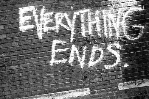 كلّ شيء ينتهي
