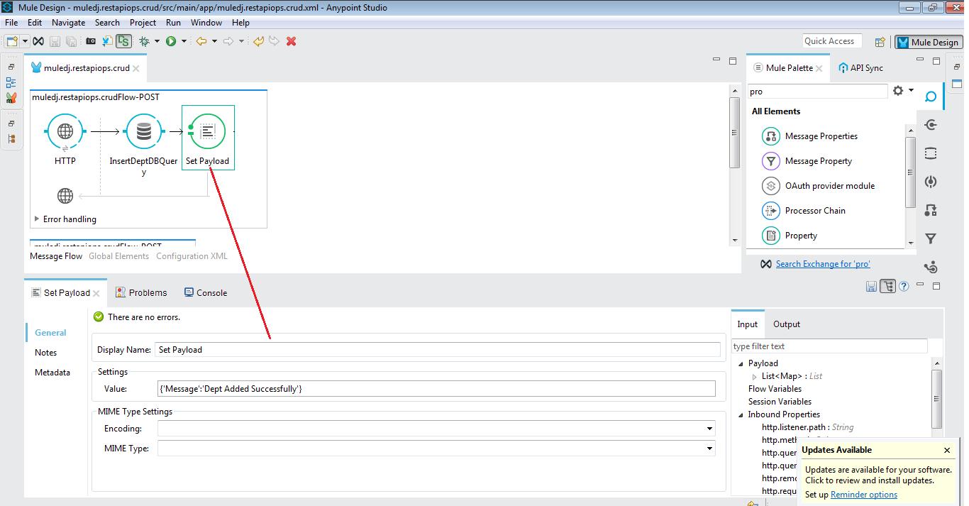 Mule ESB Tutorials: Building Restful API   CRUD Operations
