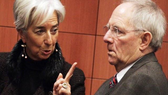 ΔΝΤ και Σόιμπλε μας πάνε σε εθνικό νόμισμα!...
