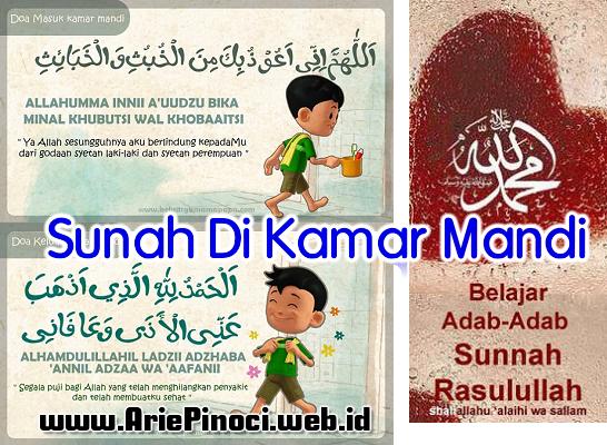 Sunnah-Sunnah di Kamar Mandi (WC)