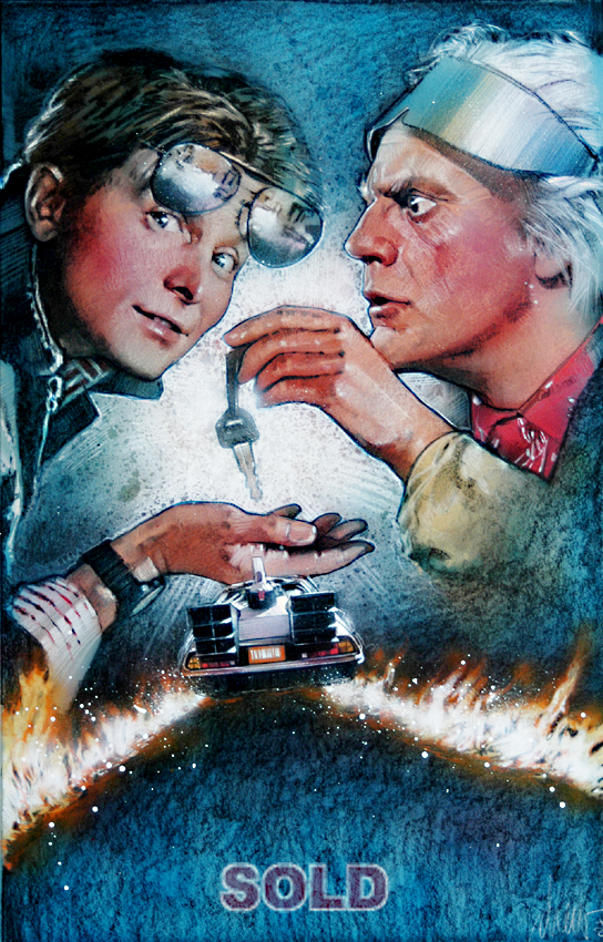 Back To The Future Ii Poster Art