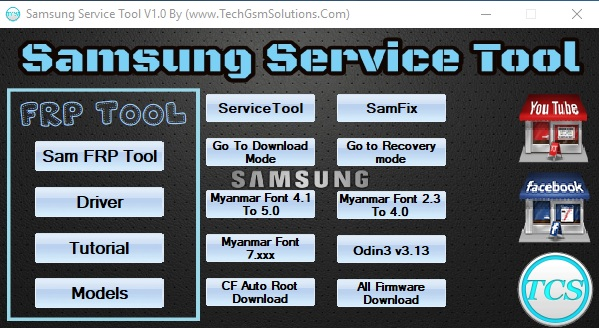 Samsung Service Tool With FRP Free Download