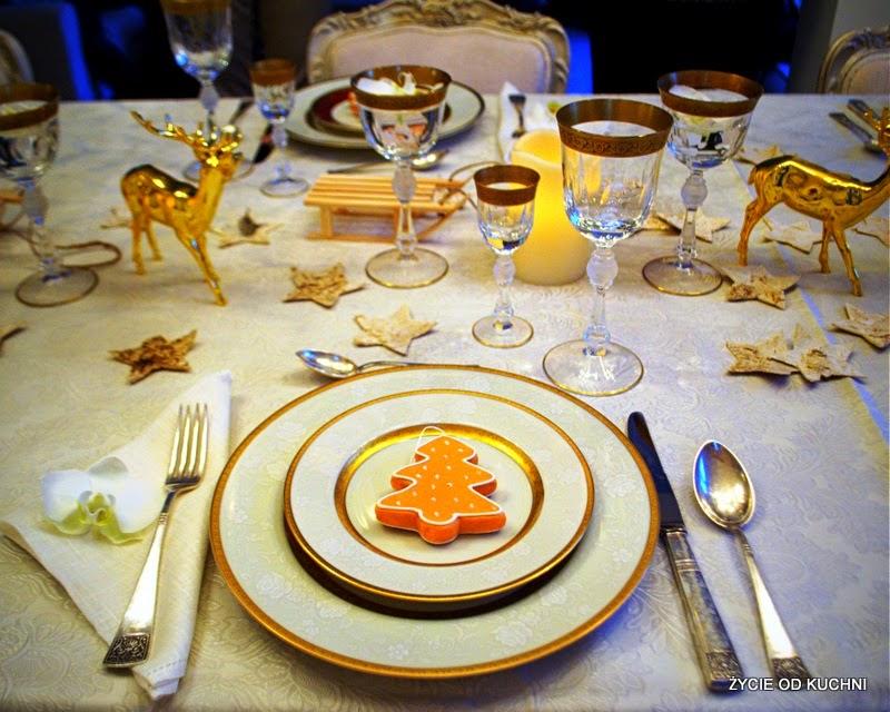 swiateczny stol, swiateczna zastawa, jak nakryc stol na swieta, blog zycie od kuchni