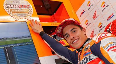 Marc Marquez Siap Wujudkan Mimpi Tim Repsol Honda Di Valencia