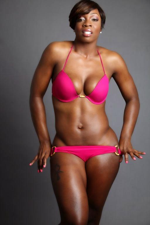 Fit black women body