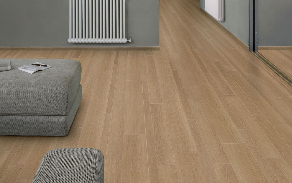 Para los suelos madera o cer mica for Ceramica imitacion parquet