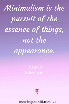 Minimalism is the pursuit of the essence of things, not the appearance. Claudio Silvestrin