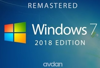 Windows 7 — 2018 Edition (Concept Design)