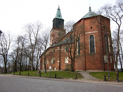 Cathedral of Turku in Finland