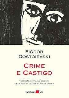 Capa do Livro Crime e Castigo