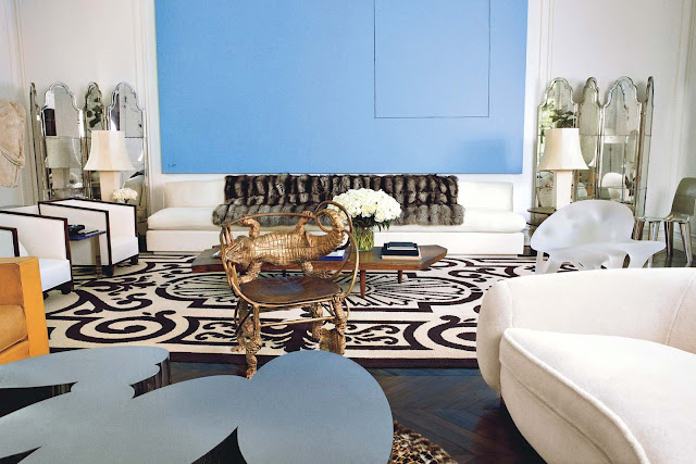 Decor Inspiration- Reed and Delphine Krakoff New York townhouse