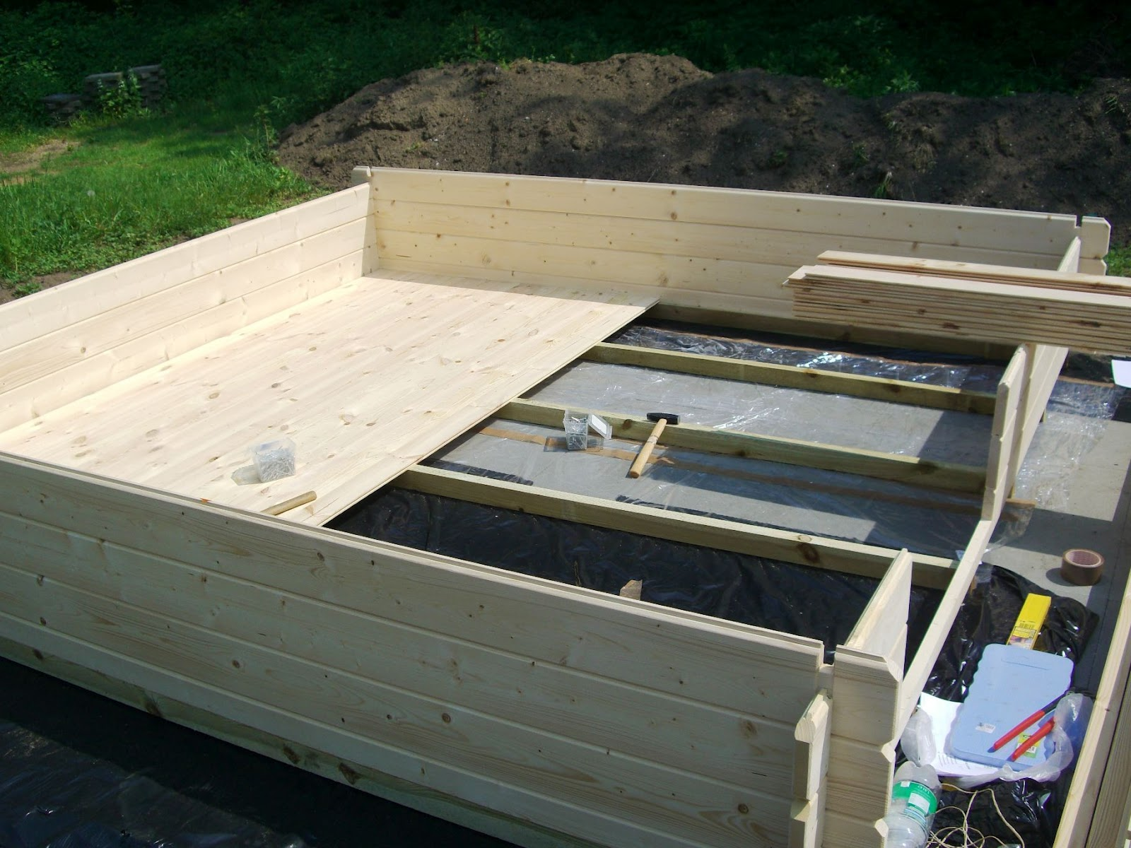 gartenhaus fundament dachpappe my blog. Black Bedroom Furniture Sets. Home Design Ideas