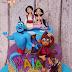 Tort cu Aladin pentru Maia