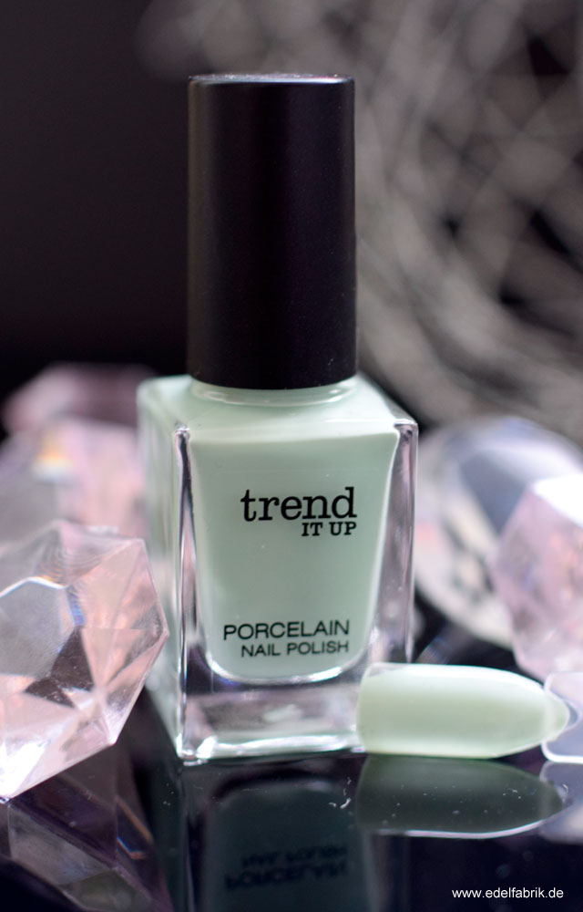trend IT UP Sortimentsupdate, Porcelain, Nagellack, Mint, Swatch