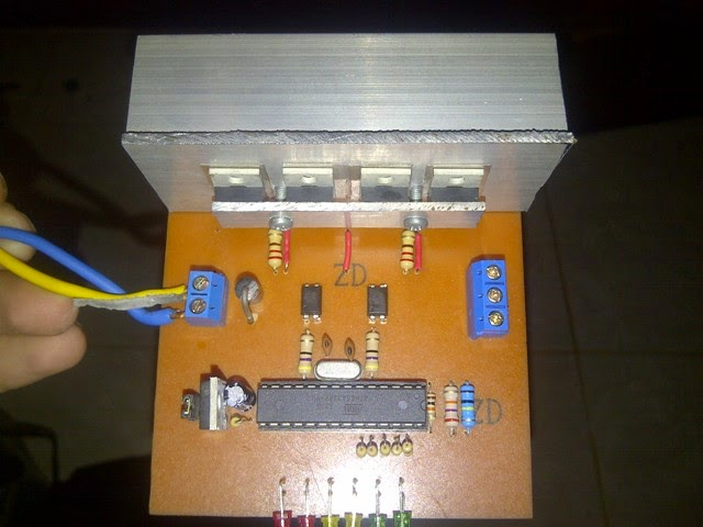 My electronic project, inverter, microcontroller: SineWave PWM