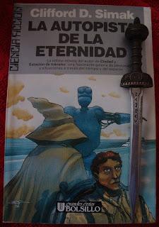 Portada del libro La autopista de la eternidad, de Clifford D. Simak