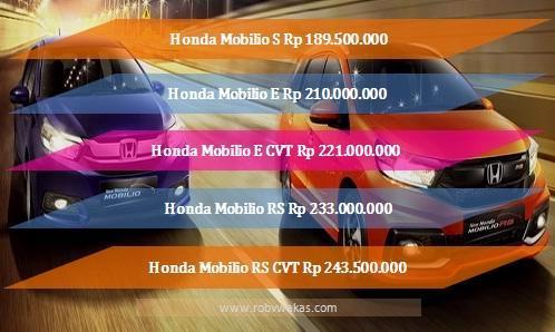 harga honda mobilio terbaru 2017
