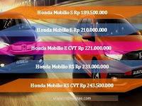 Harga Honda Mobilio Terbaru 2017 Lengkap Semua Tipe