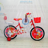 16 Inch Erminio ER2401 Girl n Star Kids Bike