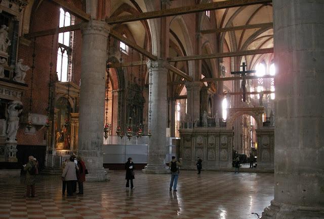 Igreja Santa Maria Gloriosa em Veneza