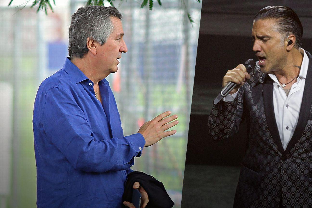 Jorge Vergara y Alejandro Fernández.