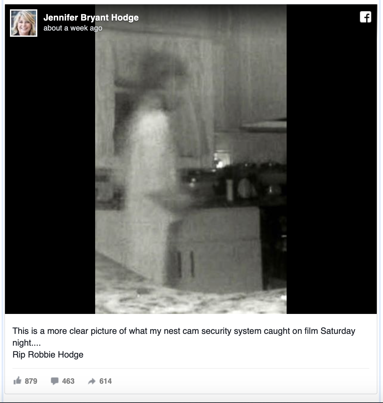 camera ghost