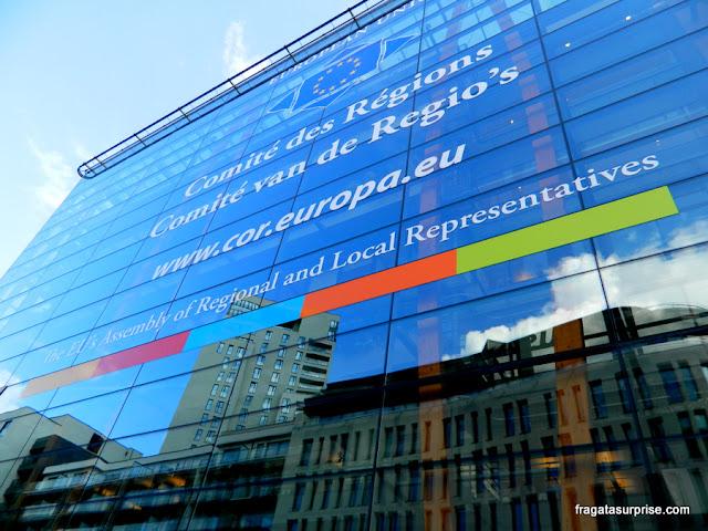 Sede de organismo da União Europeia em Bruxelas