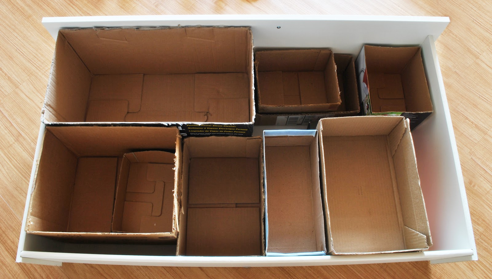 Cardboard Box Dividers Young Broke And Marvelous Cheap And Creative Storage