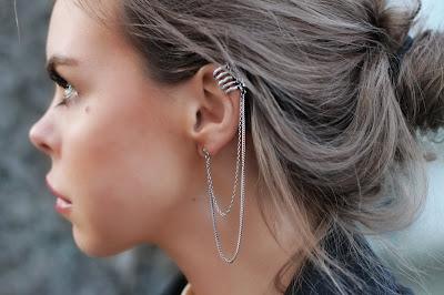 09e328984014f Sei que vocês já estão vendo por aí e ainda verão muito os famosos Ear  Cuffs né  Desde que apareceram nos desfiles da Chanel, começaram a se  popularizar por ...
