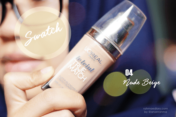 True Match Liquid Foundation 04 Nude Beige