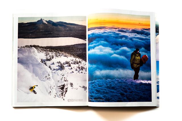 Mount Thielsen Wilderness snowboarding, oregon.