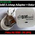 BM Gold 2.1Amp Adapter+Data Cord Charger(52% OFF)