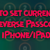 How to set current time and reverse Passcode on iPhone & iPad